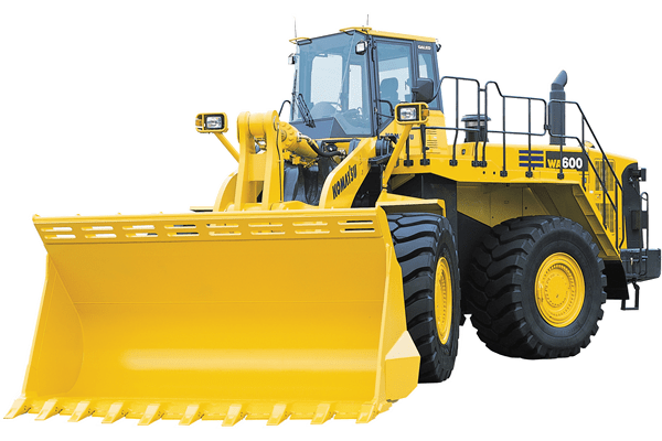 Yellow Machinery: Komatsu Wheel Loaders by MMI in Zimbabawe