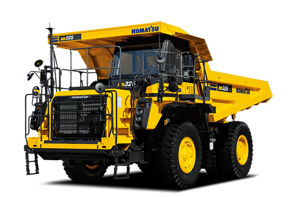 Komatsu Rigid Dump Trucks: Construction and Mining Equipment