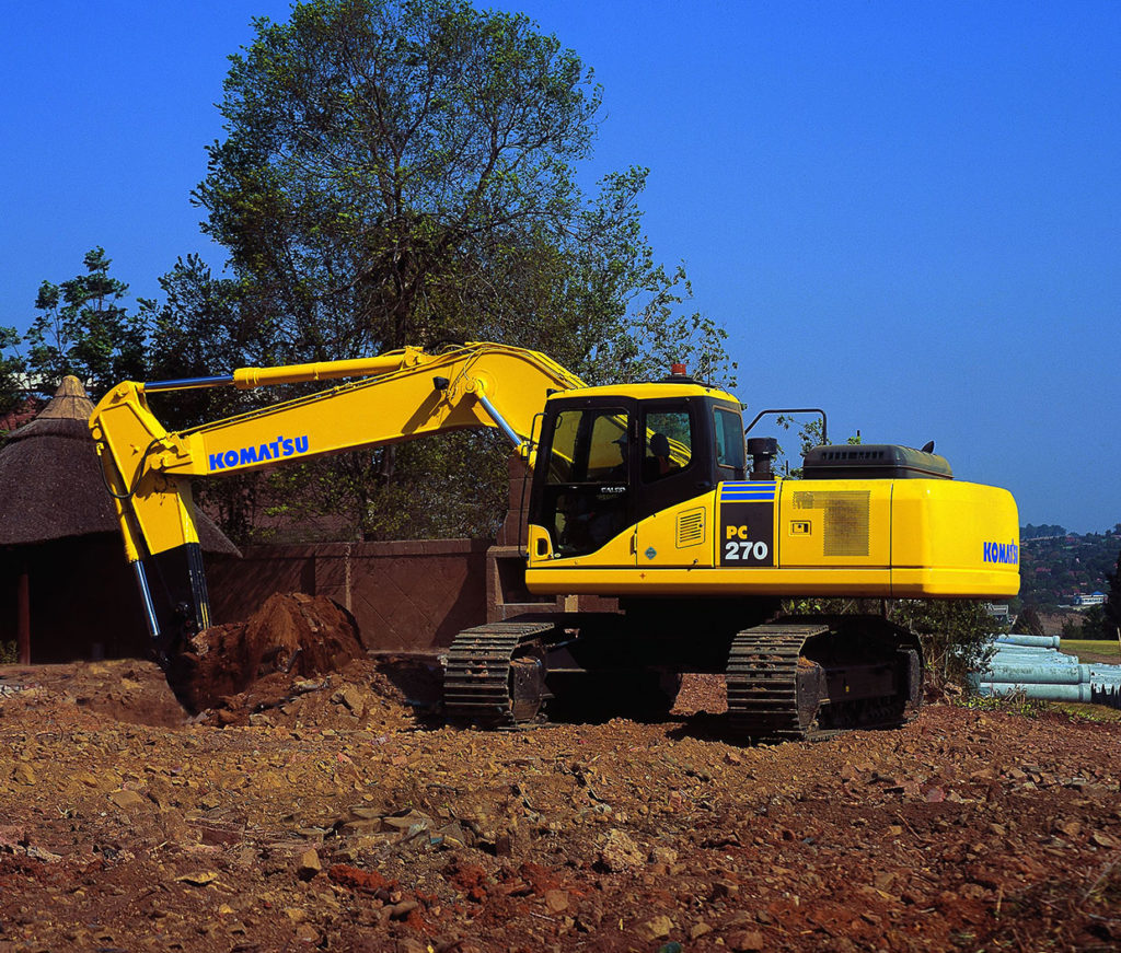 Komatsu PC270-8 Hydraulic Excavators Zimbabwe