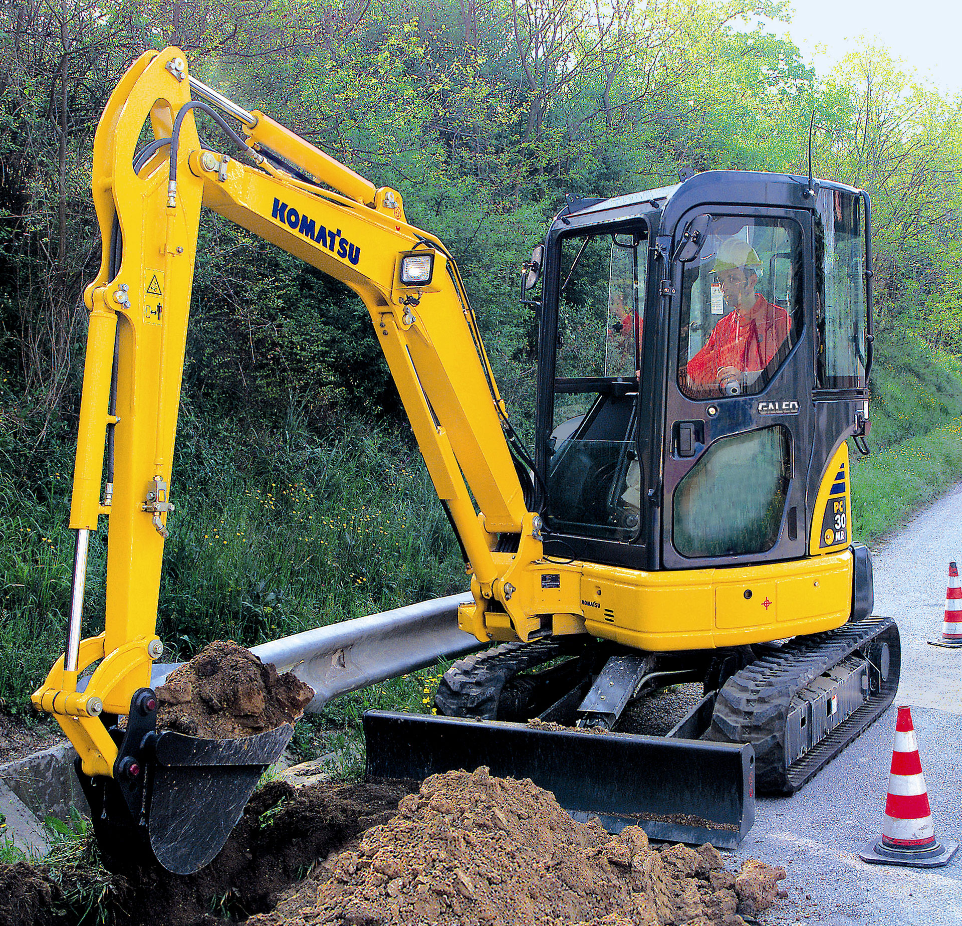 %focuskw Compact or Mini Excavators are perfect for Confined Job Sites