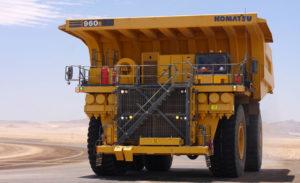 960 E Electric Drive Rigid Dump Truck or Hauler