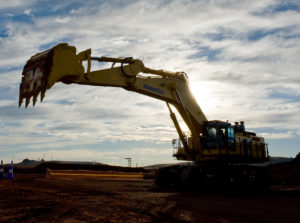 Long Reach Excavator for Construction and Agriculture Work